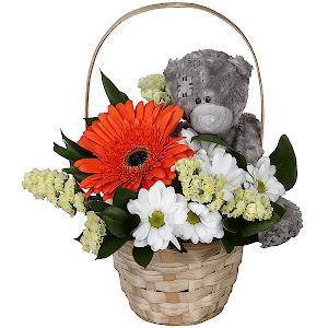 Корзина цветов Детский праздник