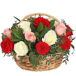 Корзина цветов Соцветие