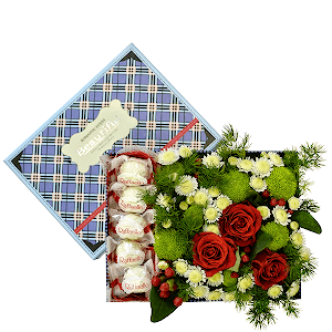 Сладкая жизнь +30% цветов с доставкой в Тюмени