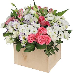 Цветник +30% цветов с доставкой в Тюмени