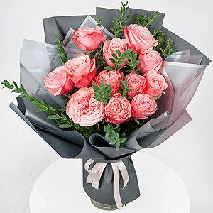 Бизнес-букет +30% цветов с доставкой в Тюмени